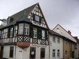 Altstadt Speyer: Gasthaus zum Halbmond, erbaut 1702