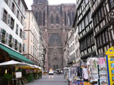 Straßburg mit Münster, Hauptportal