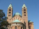 Blick auf die Ostapsis des Speyerer Domes