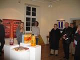 Kulinarische Stadtführung / Kulturschmaus, Führung der Galeristin Maria Franz durch Ihre Galerie (Kulturraum)