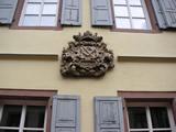 Zunftstein der Baumeister, kleine Pfaffengasse, Speyer